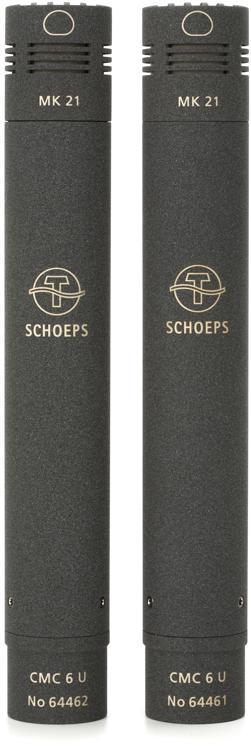 Schoeps CMC 6 MK 21 Stereo Set wide cardioid